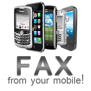 how to use fax machine with cell phone